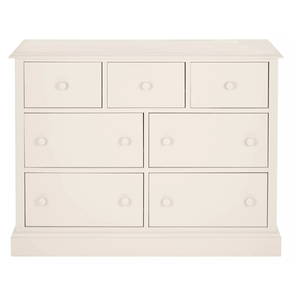Ashwell Chest of 7 Drawers Dove Grey