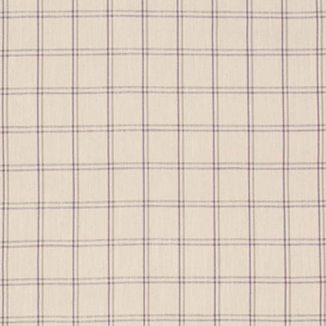 Corby Check Curtain Fabric Amethyst