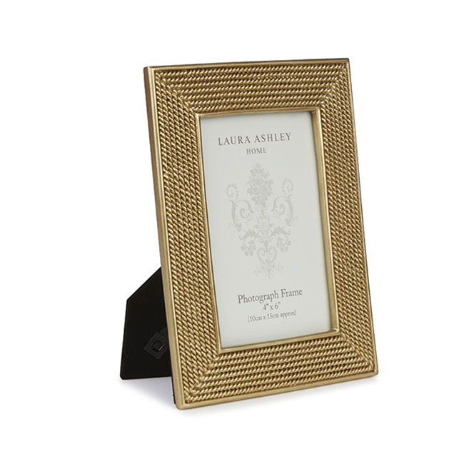 Gold Rope Frame 4X6