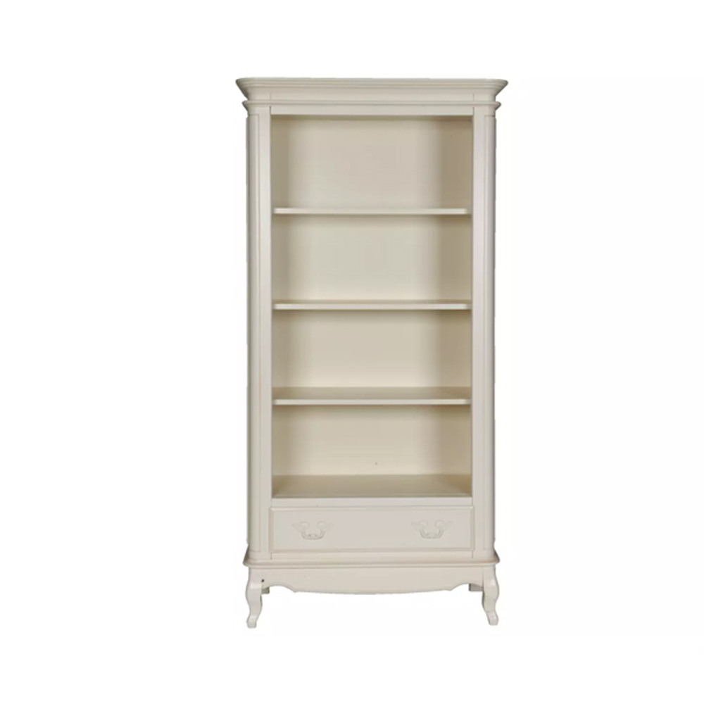 Provencale 1 Drawer Bookcase Ivory