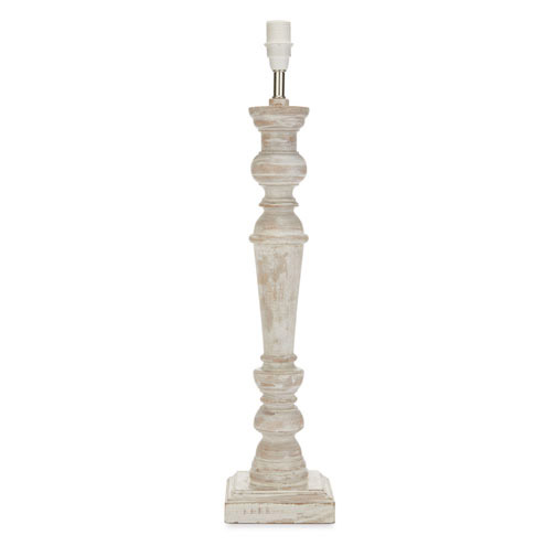 Tate Wooden Lamp Base Lime