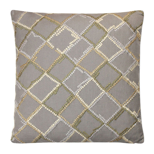 Clandon Cushion Natural - Feather Filled