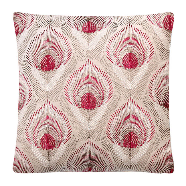 Ruskin Cushion Marble - Feather Filled