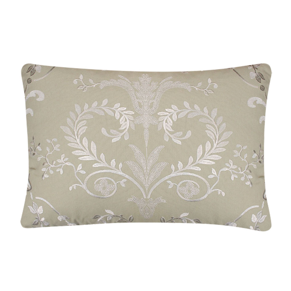Josette Embroidered Cushion Hedgerow