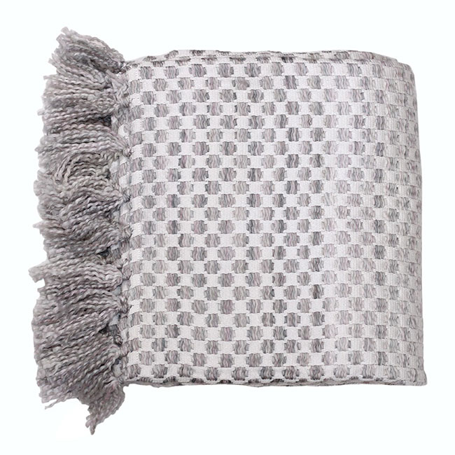 Whitwell Throw 130x170 Silver