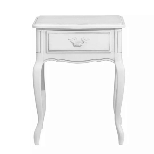 Provencale 1 Drawer Side Table Dove Grey