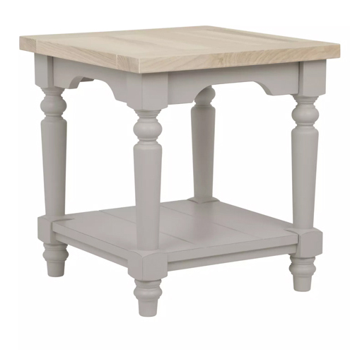 Dorset Side Table Pale French Grey