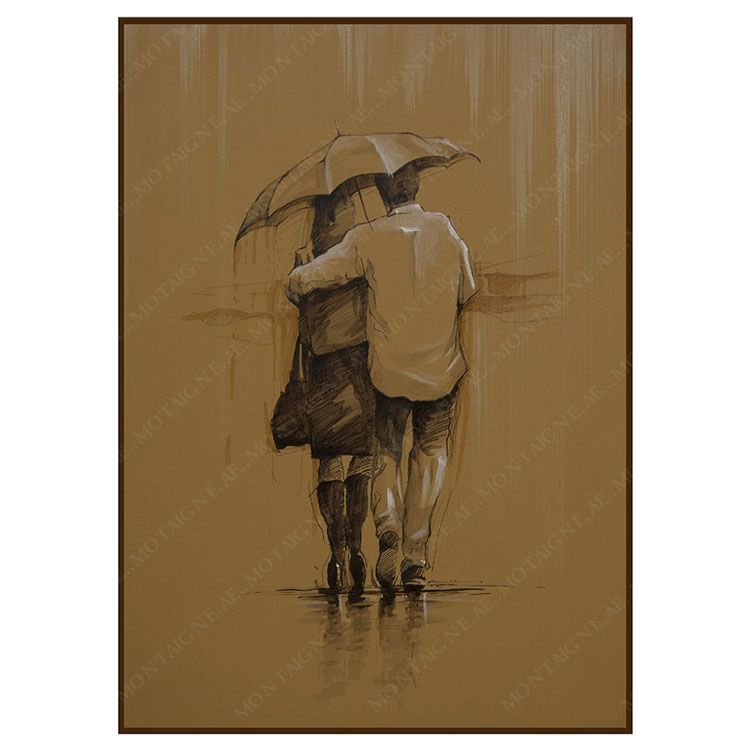 Mon Amour Couple Painting