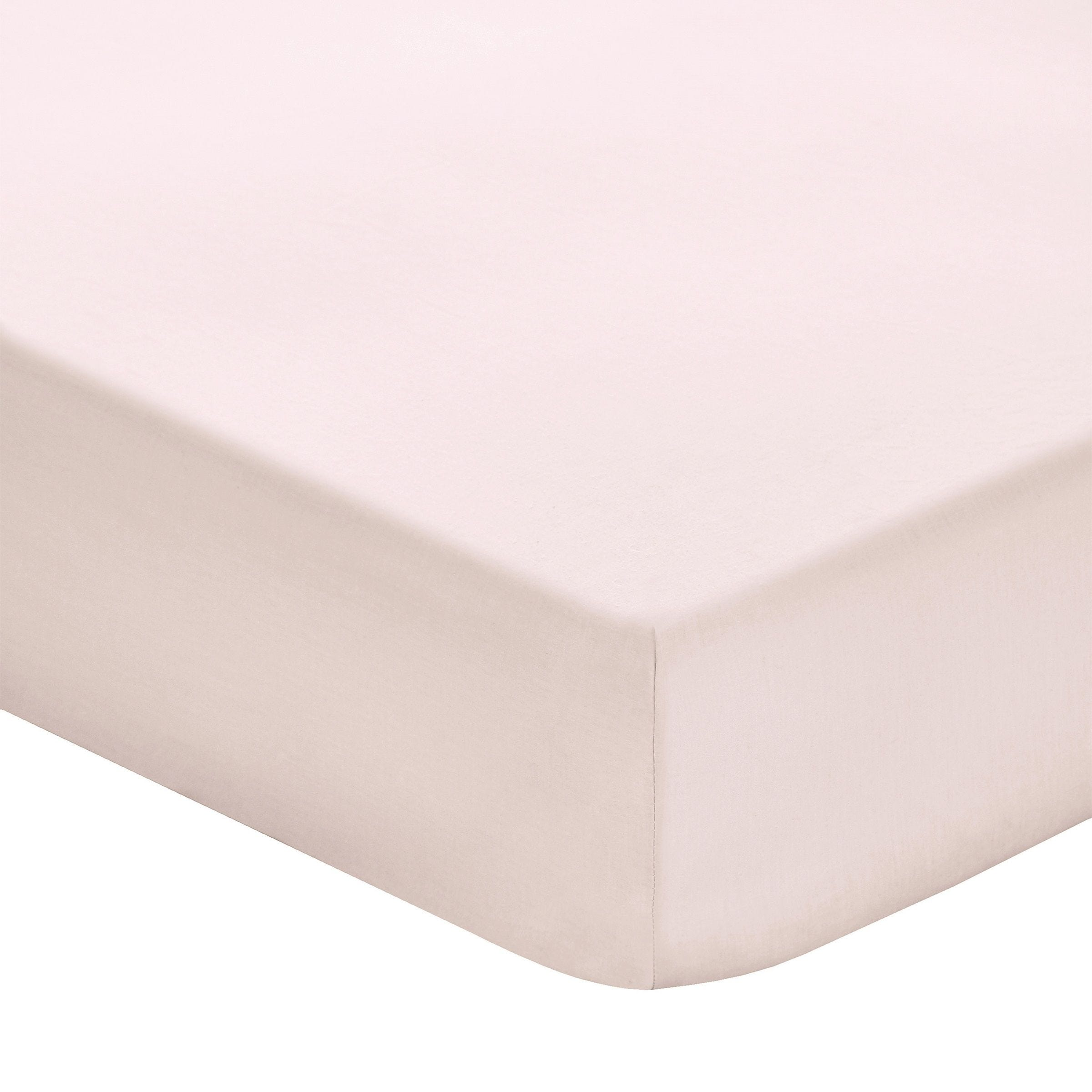 Fitted Sheet Set 200TC Pink 200x200 + 35