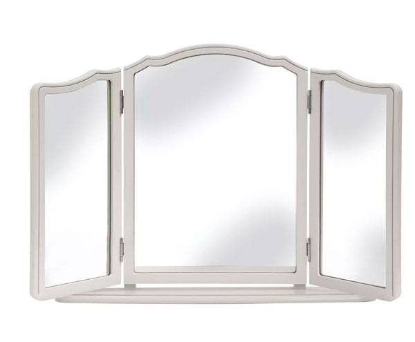 Provencale Dressing Table Mirror Dove Grey