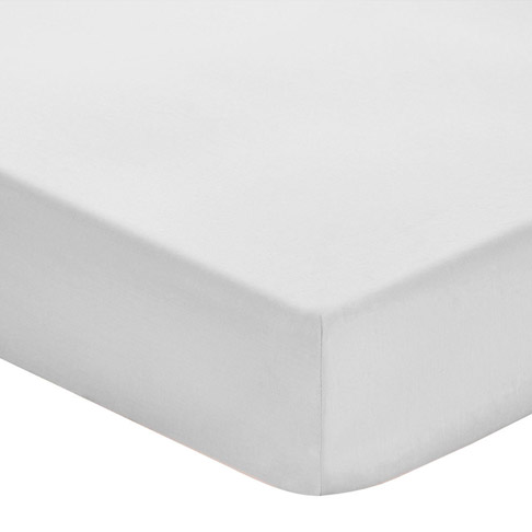 Deep Fitted Sheet 200TC Dove Grey KNG 150 X 200