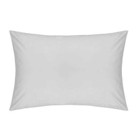 Pair of Housewife Pillowcases 200TC Dove Grey