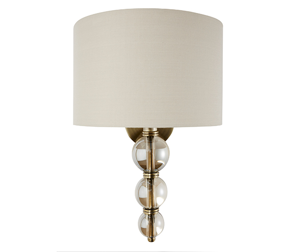 Selby Wall Light Antique Brass